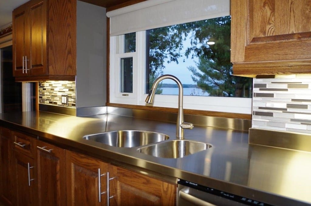 Want To Make Your Stainless Steel Countertop Even Easier To Clean While  Adding A Designeru0027s Touch? Pick Any Stainless Steel Undermount Sink  (Blanco, ...