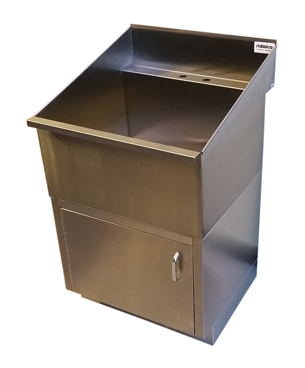 Store > Laundry Sinks > Stainless Steel Laundry/Utility Sink with Base ...