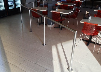 Stainless Steel Railings and Barriers