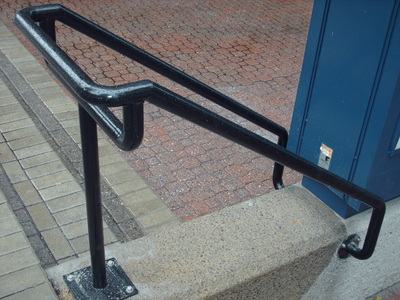 Painted Steel Railings and Handrails
