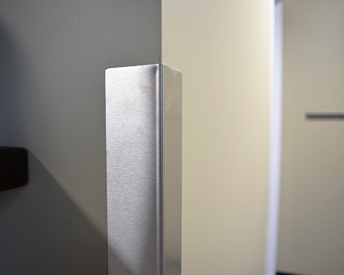 Stainless steel and metal corner guards