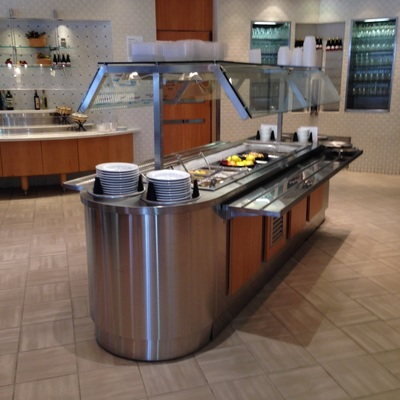 Stainless steel buffet equipment