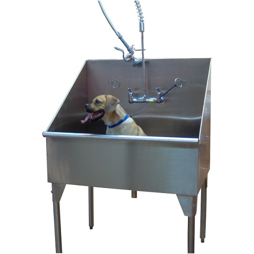 Stainless Steel Dog Grooming Sink